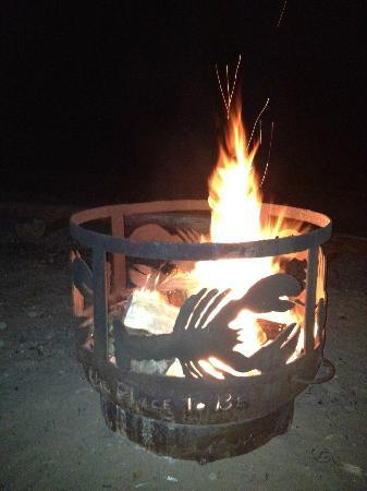 Pictou Lodge Beachfront Resort: Nightly Bon Fire
