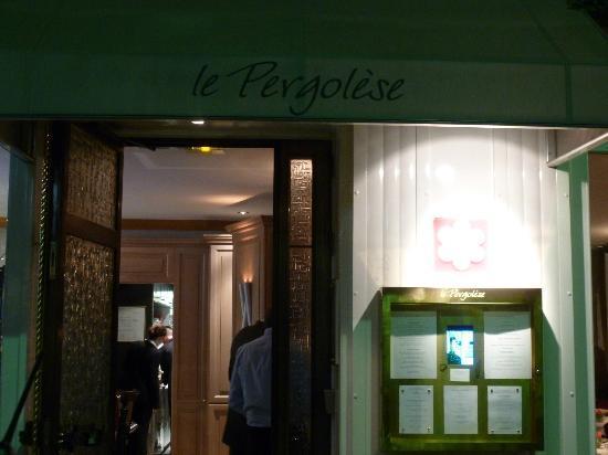 Restaurant Le Pergolese : Entrance
