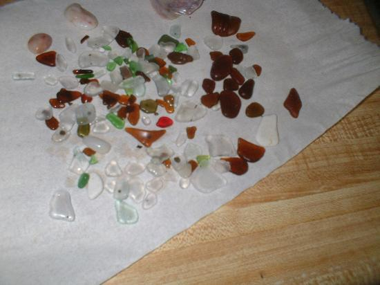 Headlands Beach State Park: 1 day of beach glass