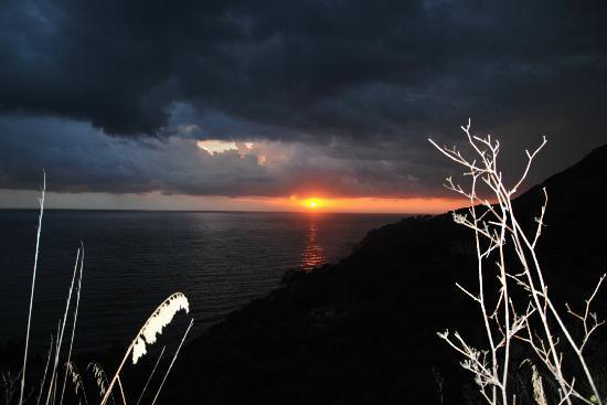 Villaggio Delle Sirene: Sonnenuntergang bei Pisciotta