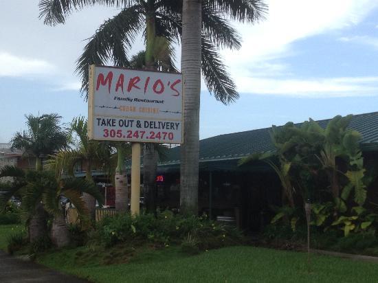 Marios Family Restaurant: the best restaurant in town