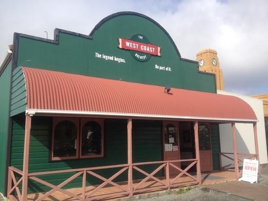 Westport, Nueva Zelanda: The West Coast Brewery