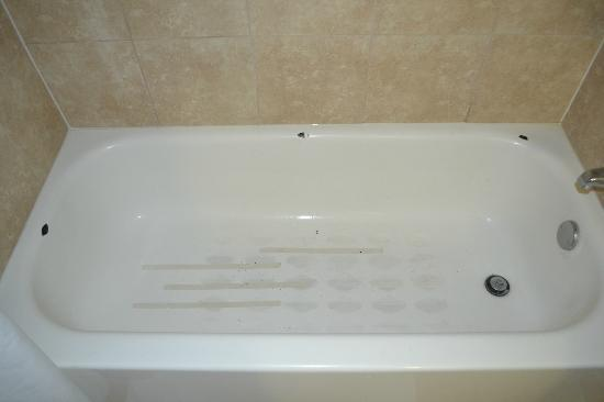 La Quinta Inn & Suites Salisbury: The filthy tub