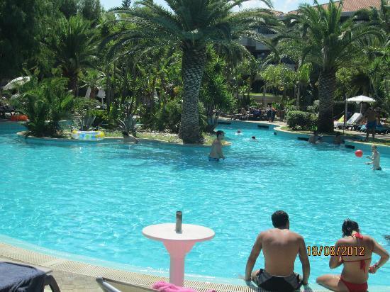 Fiesta Hotel Garden Beach: La piscina del garden