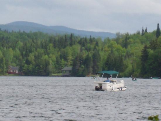 Tall Timber Lodge: Back Lake boating