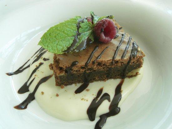 La Perla: choc brownie
