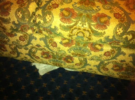 Holiday Inn Express Hotel & Suites Montgomery/Boyd Cooper Parkway: sofa was torn and dirty