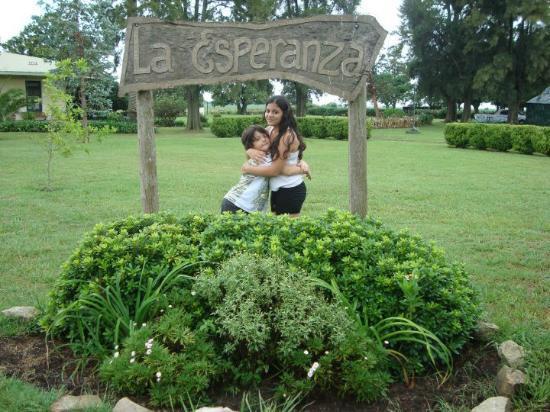 Estancia La Esperanza Turismo Rural: entrada