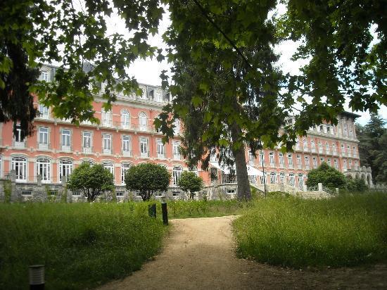 Vidago Palace Hotel: fachada principal