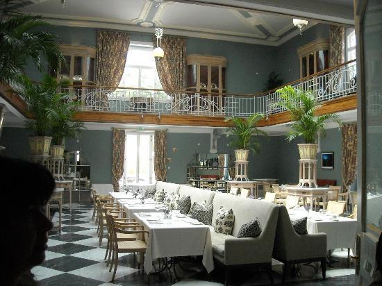 Vidago Palace Hotel: sala do pequeno almoço