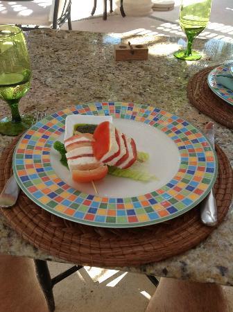 Zoetry Paraiso de La Bonita: caprese salad