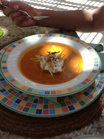 Zoëtry Paraiso de la Bonita: tortilla soup