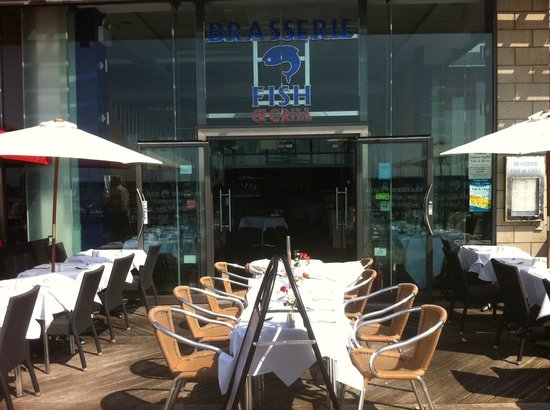 Brasserie fish and grill brighton restaurant reviews for Fish and grill