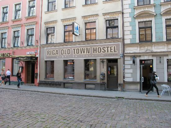 Riga Old Town Hostel & Backpackers Pub : Entrance