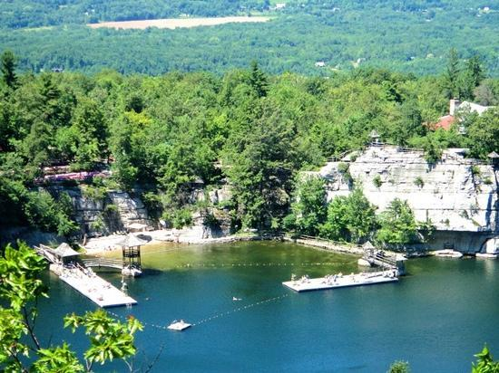 Mohonk Mountain House : swimming pool