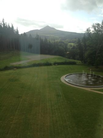 Powerscourt Hotel, Autograph Collection: view from the room