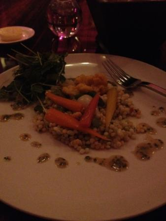 The Grill at the Ritz-Carlton: main course Cous Cous salad