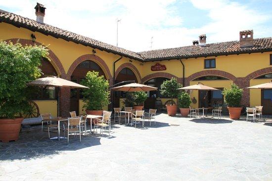 Rognano, Italy: il ristorante