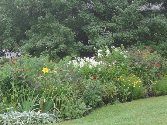 Acadia Oceanside Meadows Inn: A garden shot