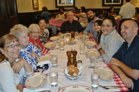 Maggiano's - Richmond : Our family gathered to celebrate mother's 94th birthday.