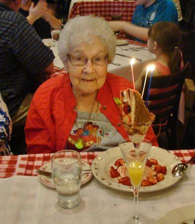 Maggiano's - Richmond : 94 years young & celebrating her birthday in style!