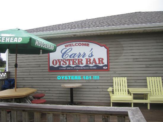 Carr's  Oyster Bar: Carr's Oyster Bar