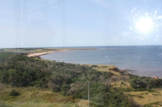 East Point Lighthouse : View from the top of the lighthouse