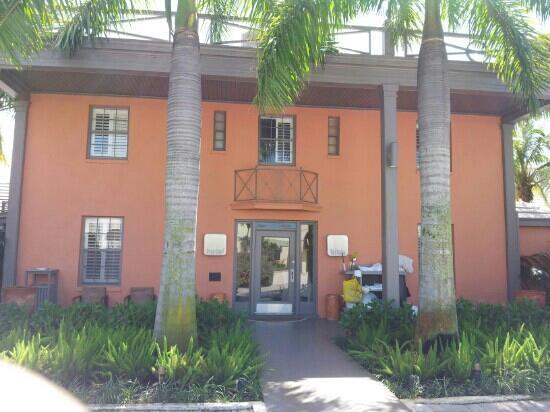 Hotel Biba: Hotel, Eingang