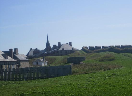 Louisbourg, Канада: A view of much of the fortress