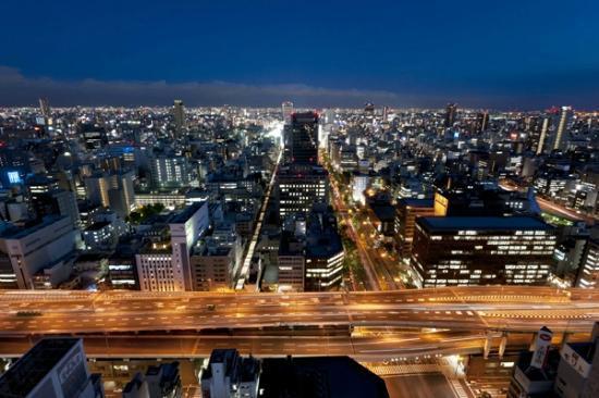 The St. Regis Osaka : South view night image