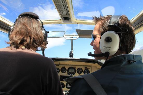 Enjo Nature Farm: flying with Moritz