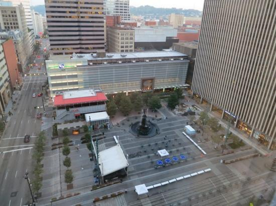 The Westin Cincinnati: view from the room