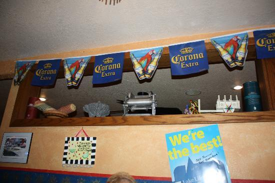 Mexicali Blues : Part of the inside wall
