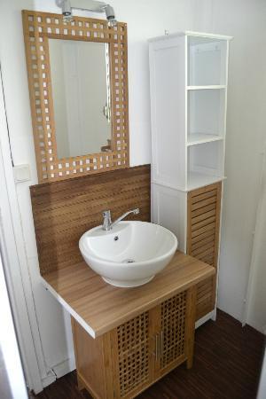 An Eol Caraibes: Salle de bains du bungalow GOYAVE