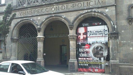 Museo de la Policia Preventiva de la Ciudad de Mexico.