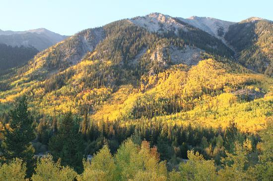 Mount Elbert Lodge: View from the deck