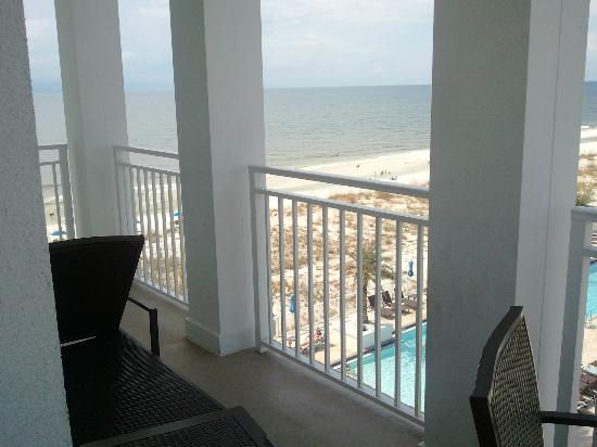 Margaritaville Beach Hotel : Beautiful view from our balcony