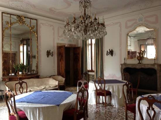 Ca' Zanardi: the dining hall