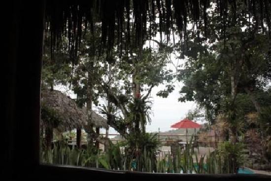 Samai Ocean View Lodge Spa: Vista desde el restaurante