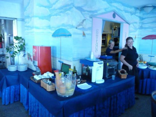 Hotel Ermitage: breakfast