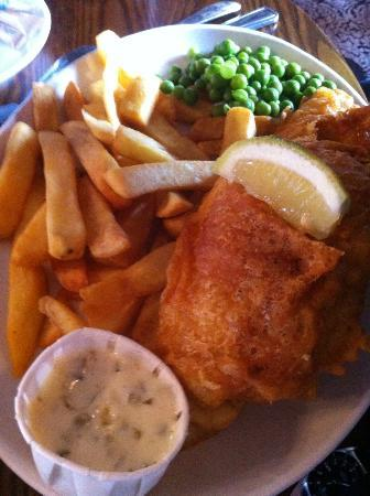 Dukeries Lodge: Scrumptious Fish & Chips