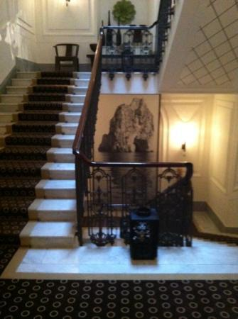 Capri Tiberio Palace: main stair