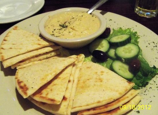 Athenian Restaurant: Hummus