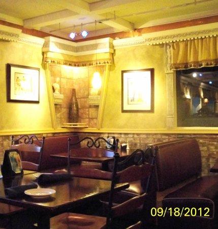 Athenian Restaurant: Interior