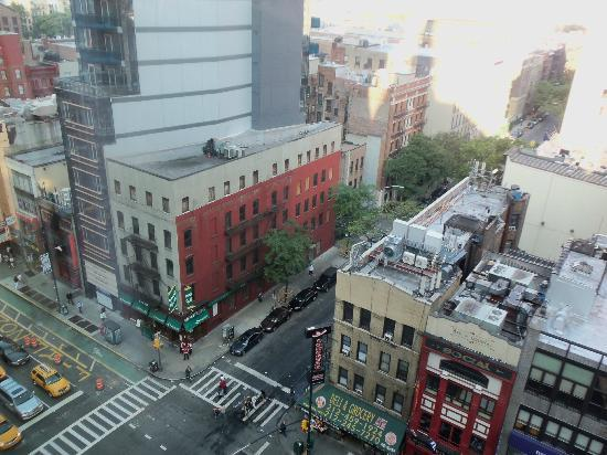 View From The Tenth Floor Picture Of Hilton Garden Inn Times Square New York City Tripadvisor