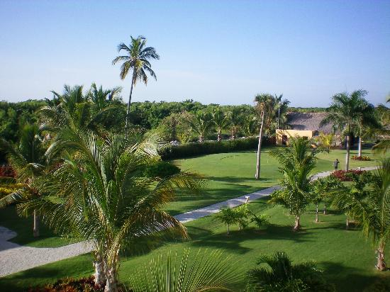 Catalonia Royal Bavaro: Tropical grounds view from our Deluxe Suite