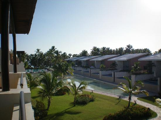 Catalonia Royal Bavaro: View from our Deluxe Suite in Bldg 38