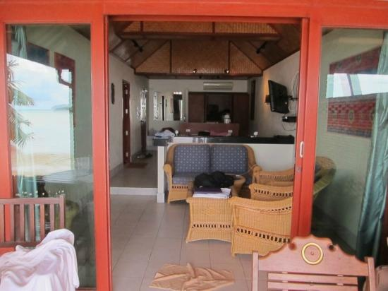 Friendship Beach Resort & Atmanjai Wellness Centre : Room view from the terrace