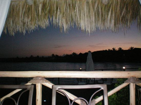 La Palapa by Eden Roc: View from our dining table at Las Palapas
