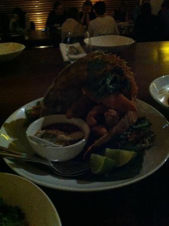 Longrain: Fried Snapper